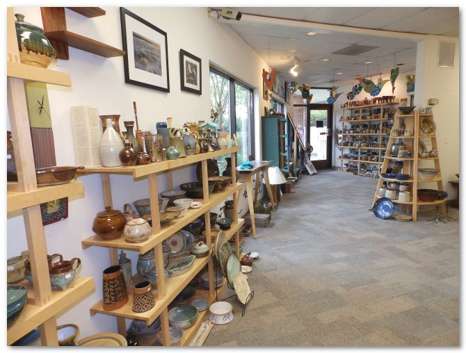 About The North Carolina Crafts Gallery